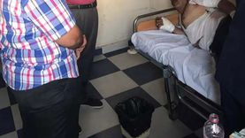 مدير الرعاية الحرجة بجنوب سيناء يتابع حالة مصابي حادث طريق كاترين