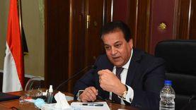 وزير التعليم العالي يستعرض تقريرا عن تطبيق معلومات قضايا الدولة