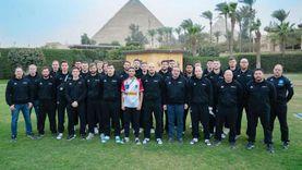 طالب بجامعة القاهرة مترجم للمنتخب النمساوي في بطولة كأس العالم لليد