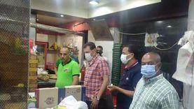 غلق 23 محلا ومنشأة في 4 أحياء بالإسكندرية