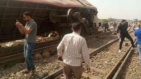 «النيابة العامة» تنتقل لمعاينة حادث قطار بنها