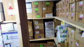 التحفظ على 70 ألف عبوة دواء بمخزن في كفر الشيخ