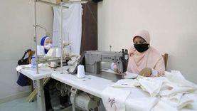 القومي للمرأة ينظم ورش عمل لتدريب الفتيات على التطريز والخياطة