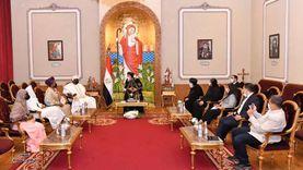 البابا يستقبل ملك مقاطعة إيرو النيجيرية «صور»