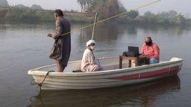 ري القناطر تقيس تصرف الرياحات لمتابعة ارتفاع منسوب نهر النيل