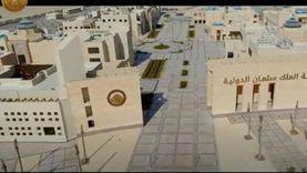 """بصوت كرارة.. الرئيس السيسي يشاهد وثائقيا بعنوان """"منارة سيناء الحديثة"""""""