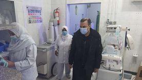 العزب: تخصيص 9 مستشفيات لفرز وعزل حالات كورونا ووحدة أطفال بدمياط
