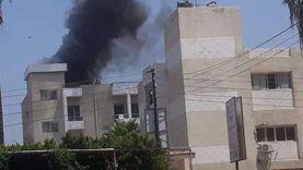 السيطرة على حريق في عقار بمصر الجديدة