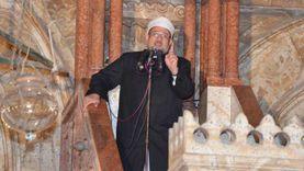 وزير الأوقاف يؤدي خطبة الجمعة غدا بمسجد عمرو بن العاص