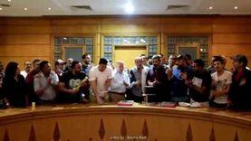 فريق عمل «ضل راجل» يفاجئ ياسر جلال بعيد ميلاده