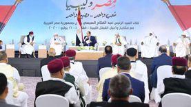 جهود مصرية وعربية ودولية لمنع اندلاع الحرب وإيجاد حل سلمي لأزمة ليبيا