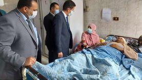 أعضاء من «النواب والتنسيقية» يزورون المصابين