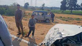 نقل المصابين في حادث طريق السويس للمستشفى و3 في حالة خطرة