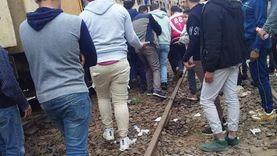 """ثاني حالة في 3 أيام.. مصرع شاب سقط أسفل قطار """"المطرية"""" بالدقهلية"""