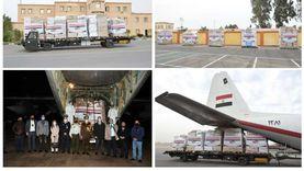 فيديو.. مصر ترسل طائرة مساعدات طبية للأردن بتوجيهات من الرئيس السيسي