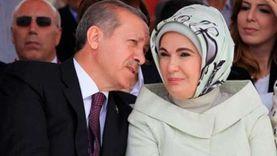 ذعر داخل عائلة أردوغان بعد تورط زوجته في عمليات غسيل أموال إيرانية