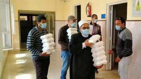 وكيل أوقاف دمياط: توزيع 3300 وجبة على مرضى المستشفيات