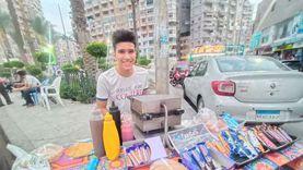 وجبة خفيفة.. «الفريسكا» بداية طريق «مازن» طالب الثانوية بالإسكندرية
