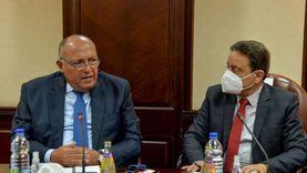 وزير الخارجية يلتقي رؤساء تحرير وإعلاميين بـ«الأعلى للإعلام» (صور)
