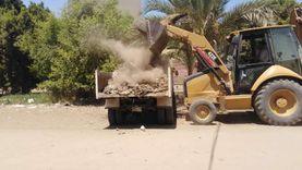 رفع 50 طن قمامة بمدينة المنشأة في سوهاج