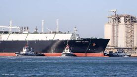 ميناء دمياط يستقبل ناقلة الغاز «إينرجي أتلانتك» المتجهة للصين