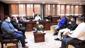 محافظ الغربية يعقد اجتماعا مع نواب المحلة لتنسيق الجهود بينهما