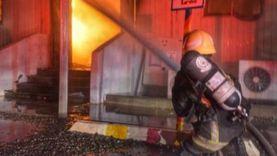 إصابة شخصين في حريق منزل بقنا