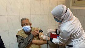 محافظ الدقهلية يتابع تلقى كبار السن للقاح كورونا