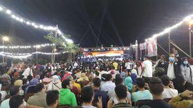 """مؤتمر حاشد لمرشحي """"مستقبل وطن"""" بـ""""حلوان"""": طالبين دعمكم وإحنا تحت أمركم"""