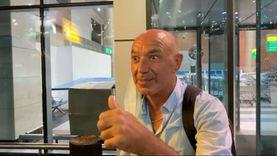 باتشيكو بعد وصوله القاهرة: بحب جماهير الزمالك