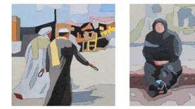 افتتاح معرض فني «لقاءات» لهالة ثابت بجاليري أركيد اليوم