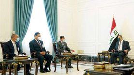 رئيس هيئة الاستثمار يلتقي رئيس وزراء العراق في ختام زيارته إلى بغداد