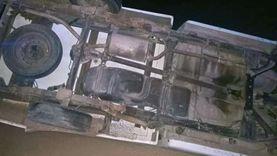 «خبطوا جمل».. إصابة مواطنين اثنين في حادث تصادم بشرم الشيخ