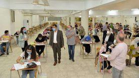 جامعة أسيوط تواصل اختبارات القدرات وسط إجراءات احترازية
