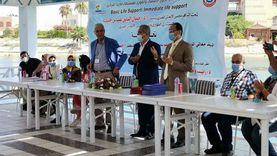افتتاح دورة الإنعاش القلبي الرئوي للأطباء بمستشفى مارينا