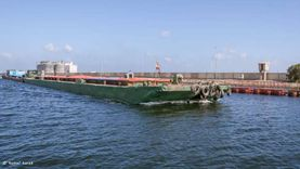 58038 طنا رصيد صومعة الحبوب والغلال للقطاع العام بميناء دمياط
