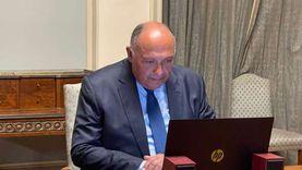 وزير الخارجية يتلقى اتصالا هاتفيا من نظيره الباكستاني