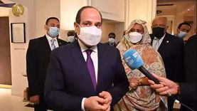 نشاط مكثف للرئيس السيسي خلال اليوم الأول لزيارته إلى فرنسا