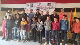 تكريم 12 ناشئا بمشروع البطل الأولمبي بجنوب سيناء