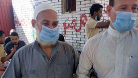 """""""أحمد"""" خمسيني كفيف يتحدى إعاقته من أجل مصر (صور)"""
