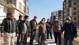 مسؤولو الإسكان يتفقدون مشروعات القاهرة الجديدة