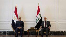 رئيس الوزراء يلقي كلمة أمام منتدى الأعمال المصري العراقي