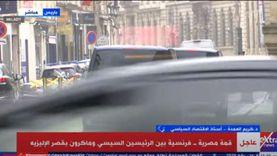 أستاذ اقتصاد: مصر ثانِ أهم شريك لفرنسا في المنطقة