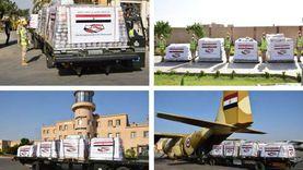 مسؤول طبي لبناني: الجسر الجوي الإغاثي المصري يراعي احتياجات البلاد