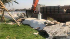 حملة لإزالة التعديات على النيل وإحالة المخالفين للنيابة العسكرية (صور)