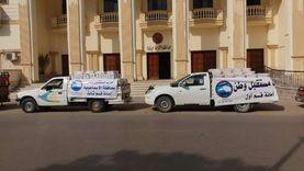«مستقبل وطن» بالإسماعيلية يوزع 2500 عبوة مواد غذائية للأكثر احتياجا
