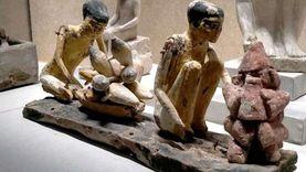 متحف شرم الشيخ يعرض قطع آثرية تعبر عن الاحتفال بعيد العمال