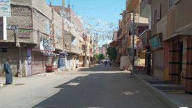 انتهاء رصف شوارع الترعة القديمة وبني إدريس ومصرف مهنى بأسيوط