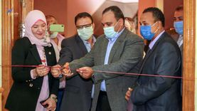 افتتاح معرض توظيف المنتجات النسيجية الابتكارية بجامعة بنها