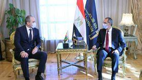 وزير الاتصالات يستعرض مع سفير بيلاروسيا استراتيجية مصر الرقمية